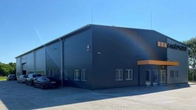 Új gyártócsarnok a Fagépszer Plusz Kft. telephelyén