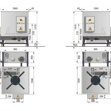 WEIMA NBP C 140 brikettáló gép