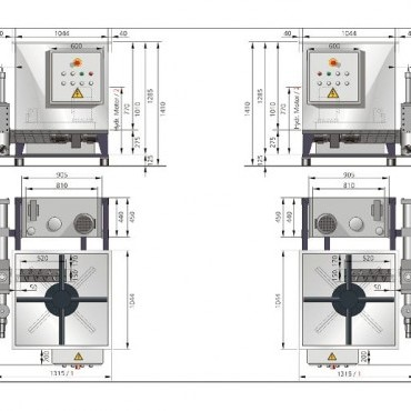 NESTRO NBP C 150-170 brikettáló gépek