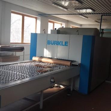BÜRKLE BTF 1528/14 vákuumfóliázó gép