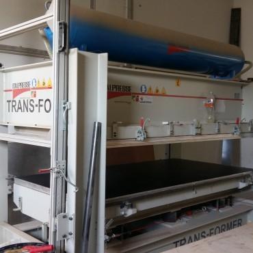ITALPRESSE Trans-Former hidraulikus kombinált prés