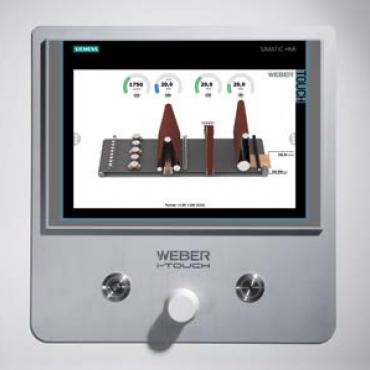 Weber KSN 1350 kontaktcsiszoló berendezés