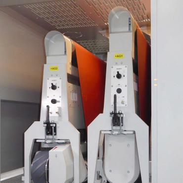 Weber KSN compact kontaktcsiszoló berendezés