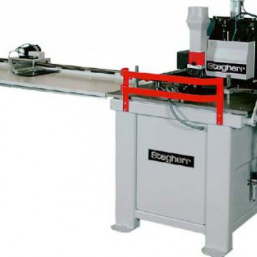 Stegherr NF nútmarógép rácsok gyártásához