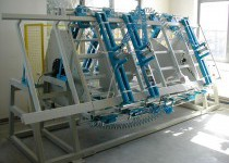 TRIMWEX SLV-3R háromoldalas hidraulikus prés